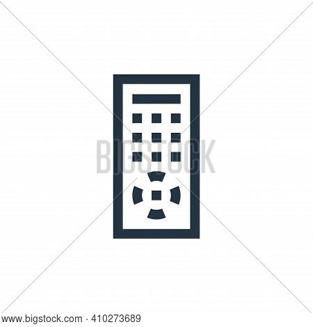 remote control icon isolated on white background from electronics collection. remote control icon th