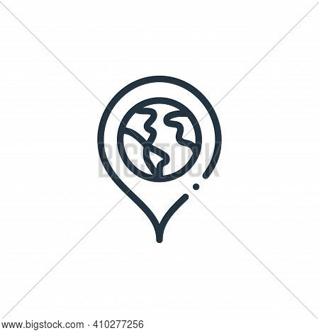 placeholder icon isolated on white background from world love collection. placeholder icon thin line