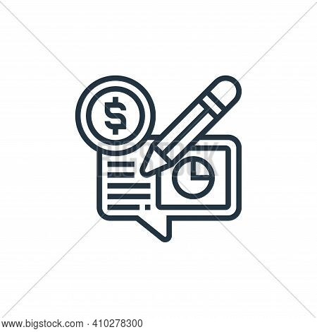 payment check icon isolated on white background from payment element collection. payment check icon