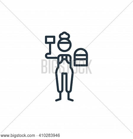 metal icon isolated on white background from general arts collection. metal icon thin line outline l