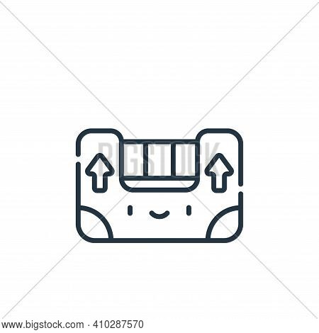 level icon isolated on white background from electrician tools and elements collection. level icon t