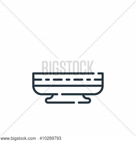 indian icon isolated on white background from desert collection. indian icon thin line outline linea