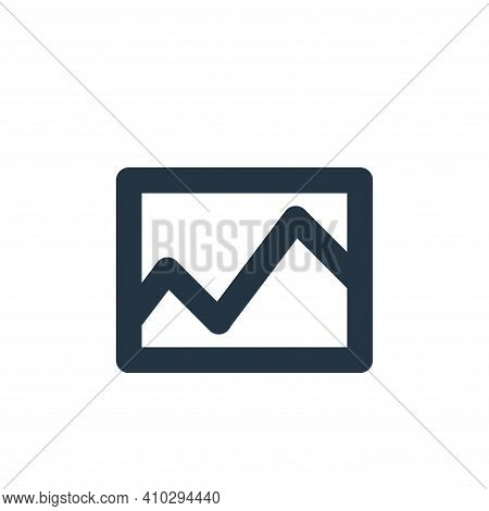 gallery icon isolated on white background from user interface collection. gallery icon thin line out