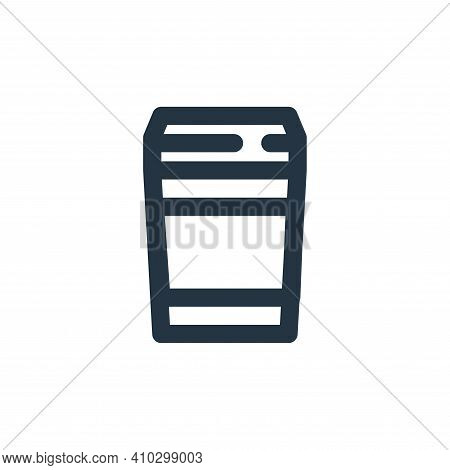cup icon isolated on white background from coffee collection. cup icon thin line outline linear cup