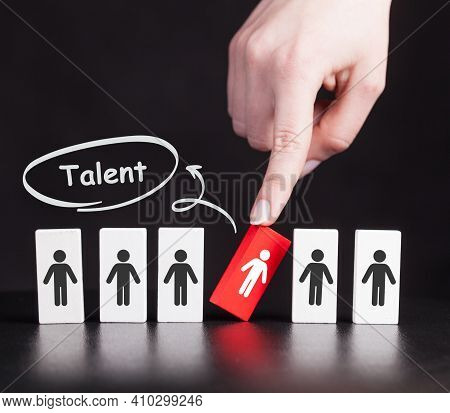 Open Your Talent And Potential. Talented Human Resources - Company Success