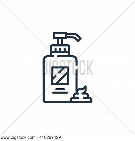 cream icon isolated on white background from hairdressing and barber shop collection. cream icon thi