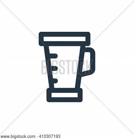 blender icon isolated on white background from electronic and device collection. blender icon thin l