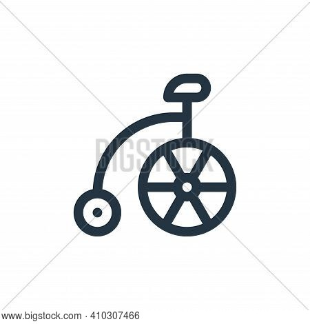 bike icon isolated on white background from england collection. bike icon thin line outline linear b