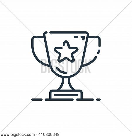 award icon isolated on white background from user interface collection. award icon thin line outline