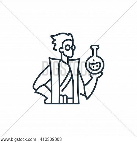 alchemy icon isolated on white background from roleplaying avatars collection. alchemy icon thin lin