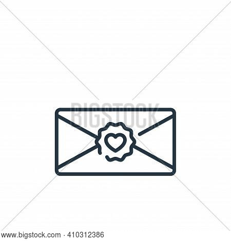 letter icon isolated on white background from fame collection. letter icon thin line outline linear