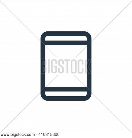phone icon isolated on white background from device collection. phone icon thin line outline linear