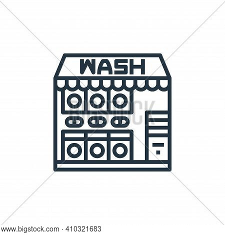laundry service icon isolated on white background from laundry collection. laundry service icon thin