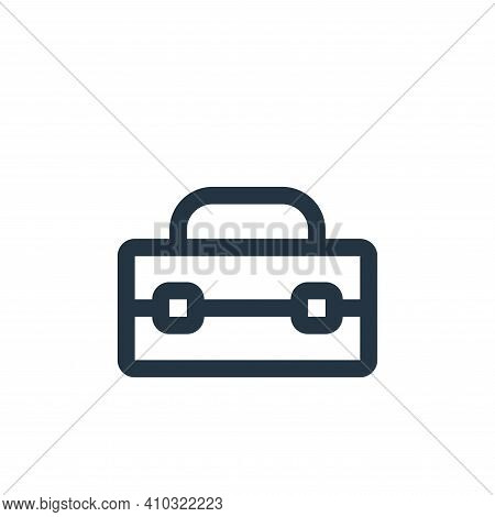 first aid kit icon isolated on white background from virus transmission collection. first aid kit ic