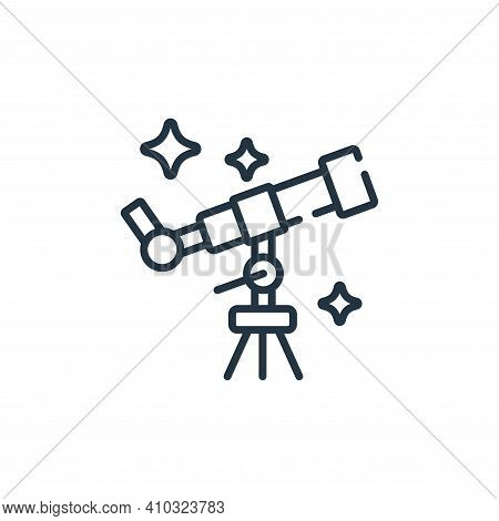 star gazing icon isolated on white background from free time collection. star gazing icon thin line
