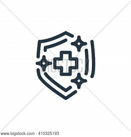 guard icon isolated on white background from personal hygiene collection. guard icon thin line outli