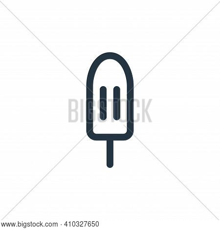 popsicle icon isolated on white background from cinco de mayo collection. popsicle icon thin line ou