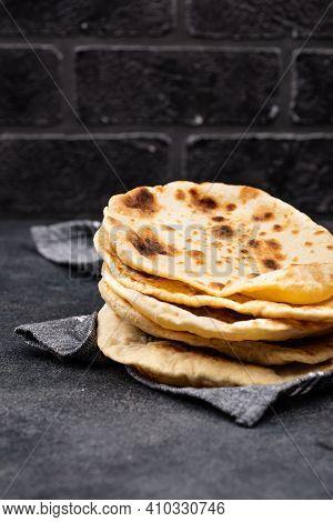 Pita Bread, Traditional Jewish And Israeli Food