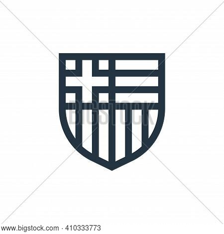 soccer icon isolated on white background from soccer collection. soccer icon thin line outline linea