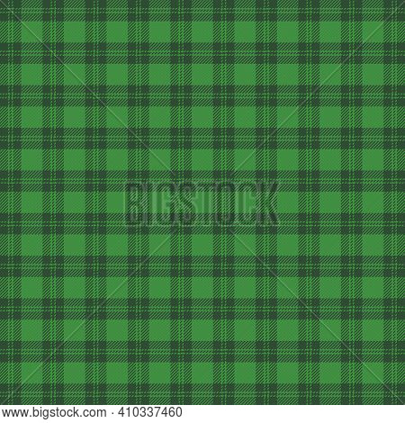 St. Patricks Day Tartan Plaid. Scottish Cage