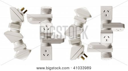 Stacks Of Power Adaptors