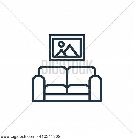 relax icon isolated on white background from stay at home collection. relax icon thin line outline l