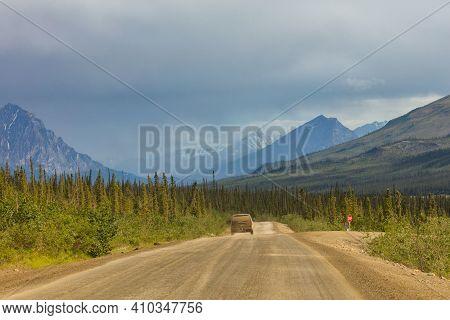 Dalton Highway The James Dalton Highway is 414 miles of gravel road