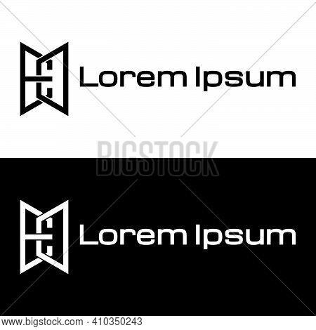 Creative, Simple And Elegant Initial Letter Ed Logo Template In Flat Design Monogram Illustration