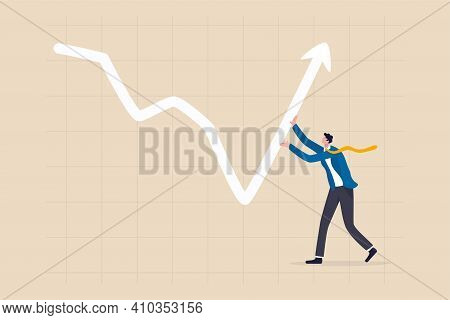 Leadership To Lead Business Growth In Market Downturns, Entrepreneur Or Investor Skill To Manage To