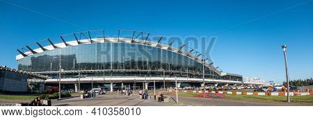 June 19, 2019 Moscow Vnukovo Airport, Russia