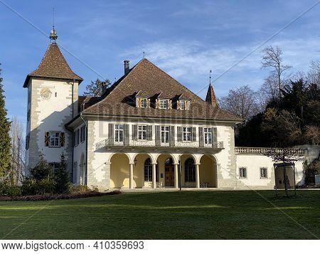 The Au Castle Or Au Villa In The Venetian Style (literally Château Au Oder Schloss Au; Werdmüller La