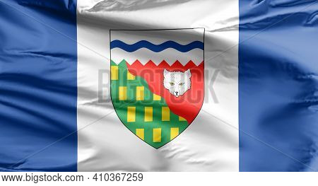 Northwest Territories Flag. The Flag Of The Northwest Territories, Is The Subnational Flag Of The No