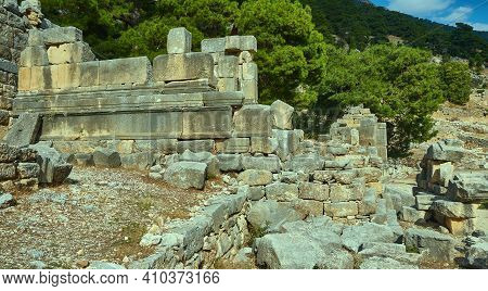 Ancient Lycian City Of Arykand
