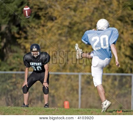 Youth Football Punt