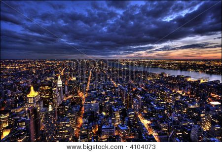 Cidade de noite