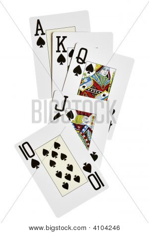 Spades Royal Flush