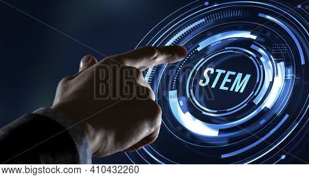 Internet, Business, Technology And Network Concept.science, Technology, Engineering And Math. Stem C