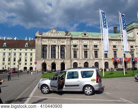 Vienna, Austria - 10 Jun 2011: Imperial Palace Hofburg In Vienna, Austria