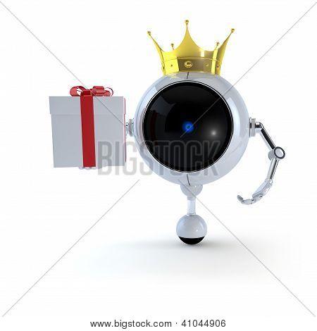 Robot Keep Gift