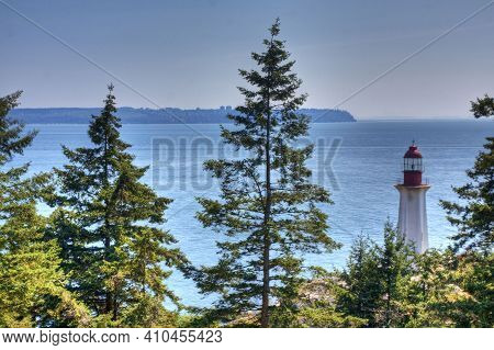 The Point Atkinson Lighthouse In British Columbia, Canada