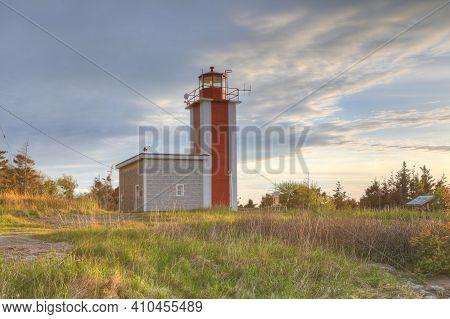 The Point Prim Lighthouse Near Digby, Nova Scotia