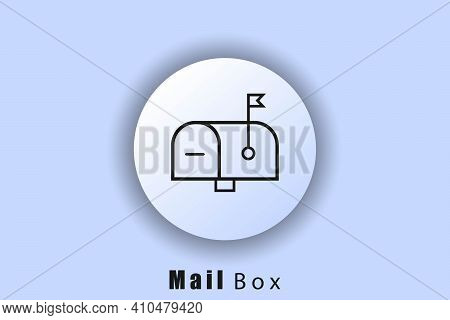 Mailbox Icon. Email And Messaging Icons. The Envelope. Newsletter Logo. User Interface Icon. White W