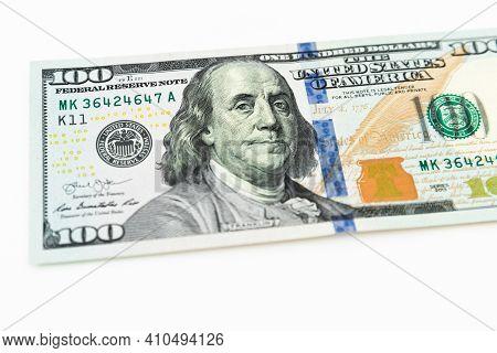 Us Dollars Cash. One Hundred Dollar Bills.