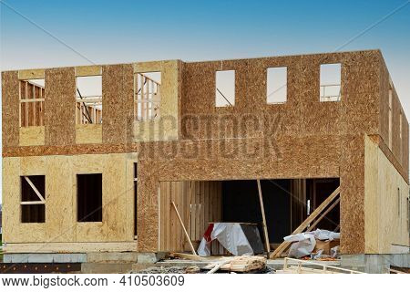 New Framing Construction Of A House Plywood Window Industry