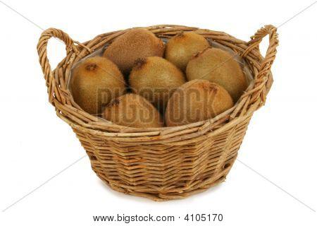 Basket With Kiwis
