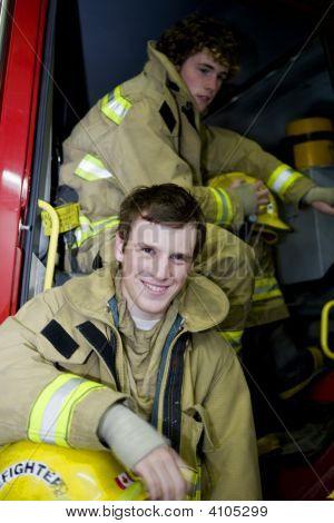 Two Young Firemen