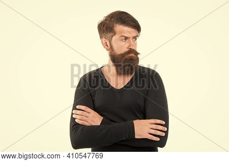 Fashion Style And Trend. Fashionable Look Of Mature Man. Menswear Concept. Brutal And Stylish Hipste