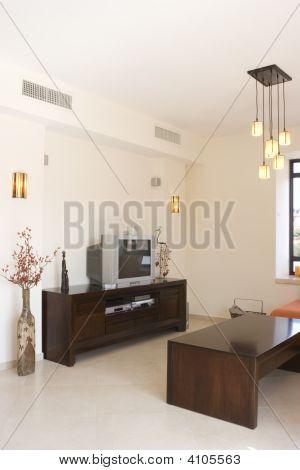 La moderna sala de estar