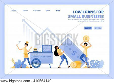 Low Interest Loans For Startups, Street Vendors, Small Businesses. Debt Funding Help Develop Small C