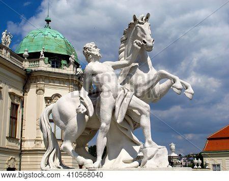 Vienna, Austria - 10 Jun 2011: The Art In Belvedere Palace In Vienna, Austria